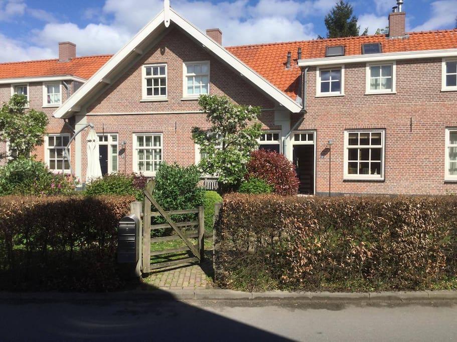 Arbeiderswoning van voormalige steenfabriek huizen te for Te huur in gelderland