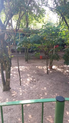 Casa em frente a lagoa em Arambaré