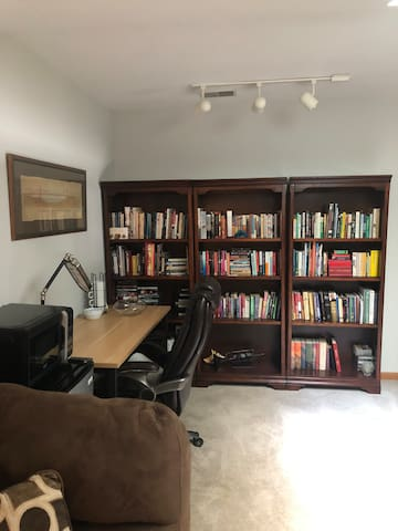 Office and library