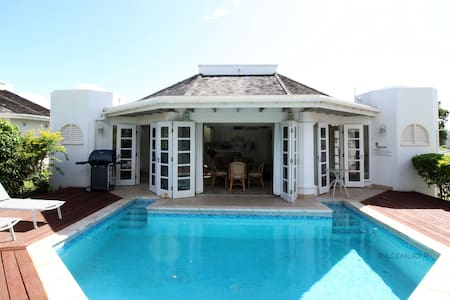 Plantations 2BR Villa & pool, wifi, golf, nature - Lowlands - 別荘