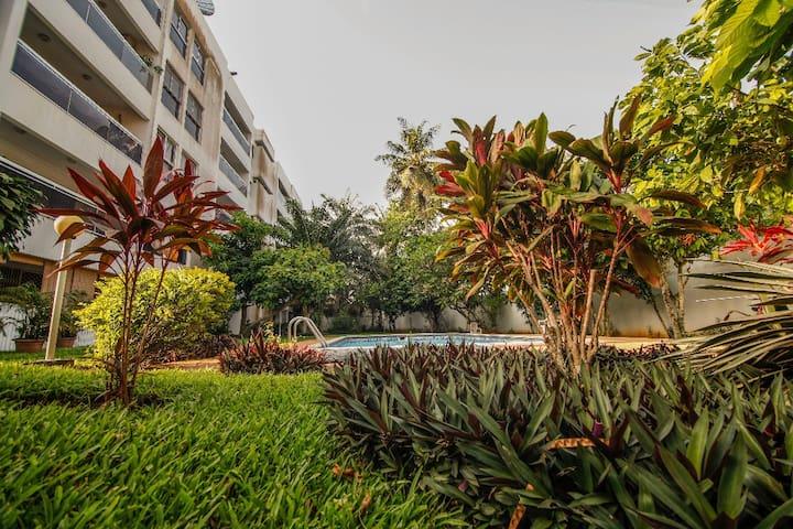 Appartement Cozy Meublé centre ville 130m2 Cocody