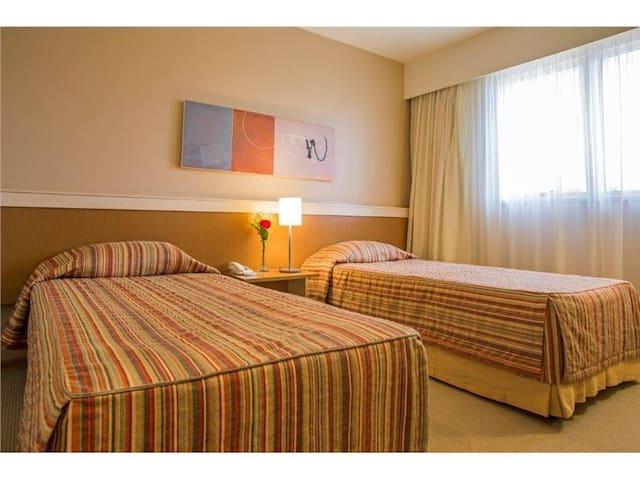 Astron Hotel Bauru - Standard - 2 Camas de Solteiro