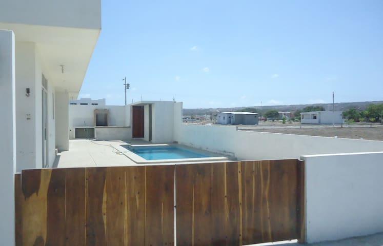 Apartment 2nd floor&pool-Depa planta alta &piscina - Santa Elena - Other