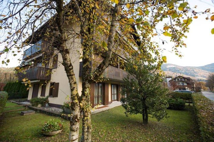 Bilocale piano terra con giardino pos strategica - Carisolo - Huoneisto