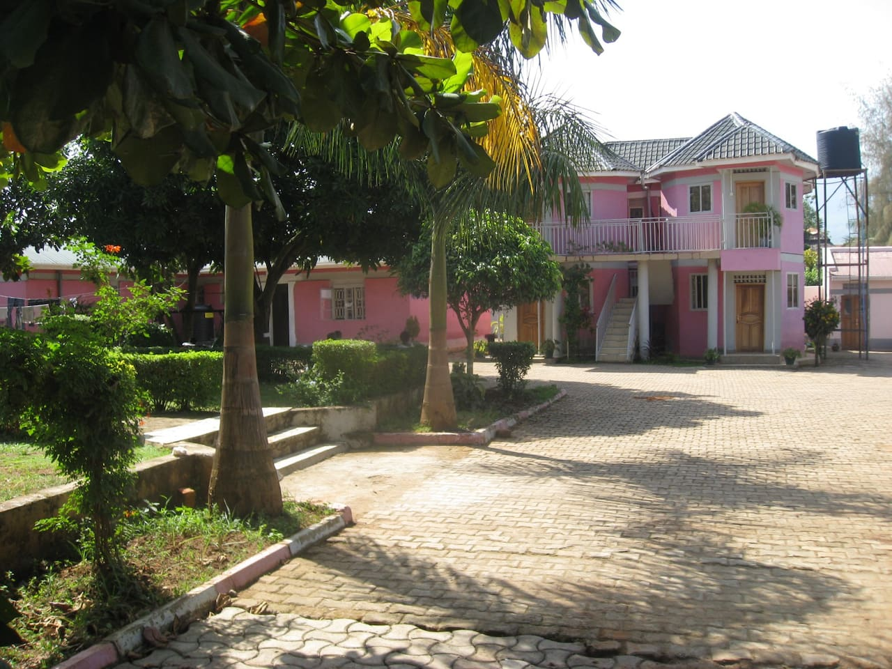 Beautiful compound with ample parking space.