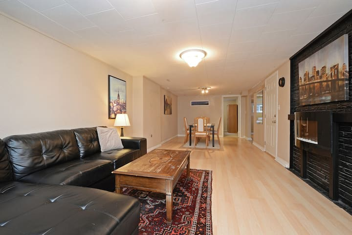 Very spacious and clean (private) 2 bedroom suite