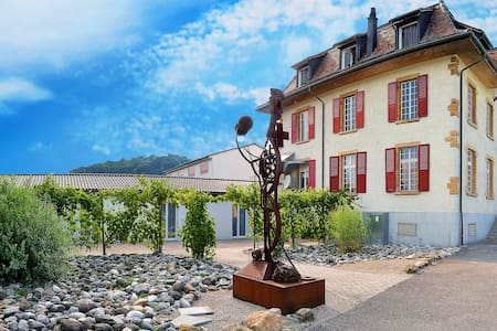 Boutique hotel with art exhibition at Lake Murten - Bas-Vully - 精品酒店