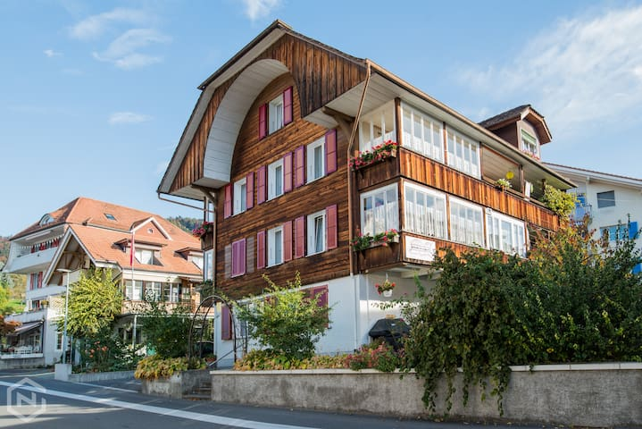 Typical Swiss apartment, walking distance of Lake!
