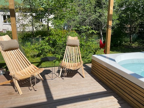 Urban cottage - Sauna included - 24h check-in