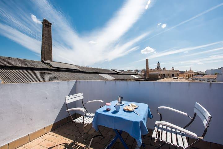 Habitación luminosa y céntrica - Sevilla - Apartment