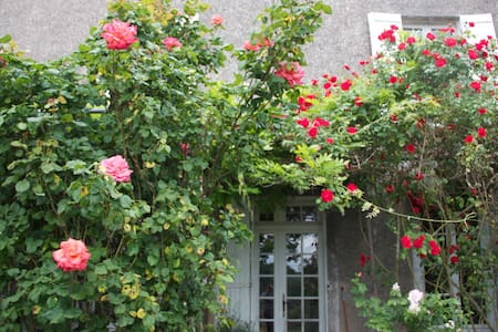 Chambre.Maison avec jardin 300m2 - Galapian