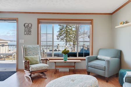 Cottage on East Rush Lake-getaway for summer fun!