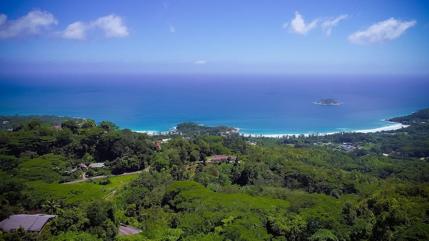 View of Grand Anse Beach and West Coast