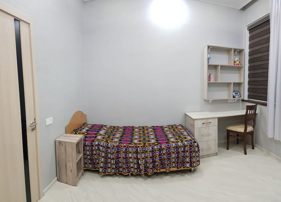 Single room. 18$ per night.  For long stay (more than a week) price would be $15 per night.