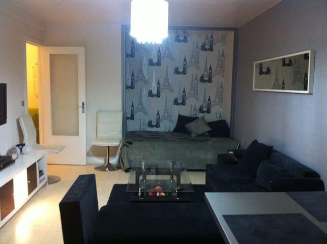 Beau studio de 34 m2 centre ville - Aulnay-sous-Bois - Daire