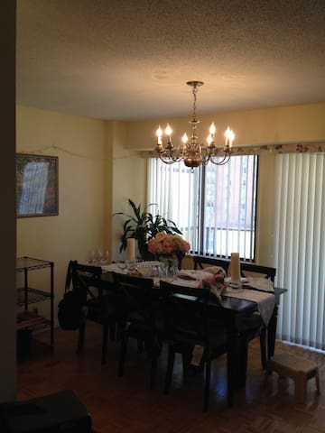 Cozy private bedroom with parking - Hackensack - Kondominium