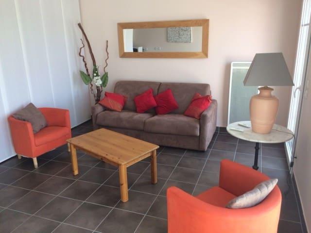 AGREABLE T2 SPACIEUX, WIFI, TERRASSE DE 10M² - La Teste-de-Buch - Appartement
