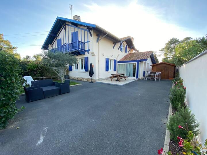 Villa à Anglet Chiberta, proche des plages et golf