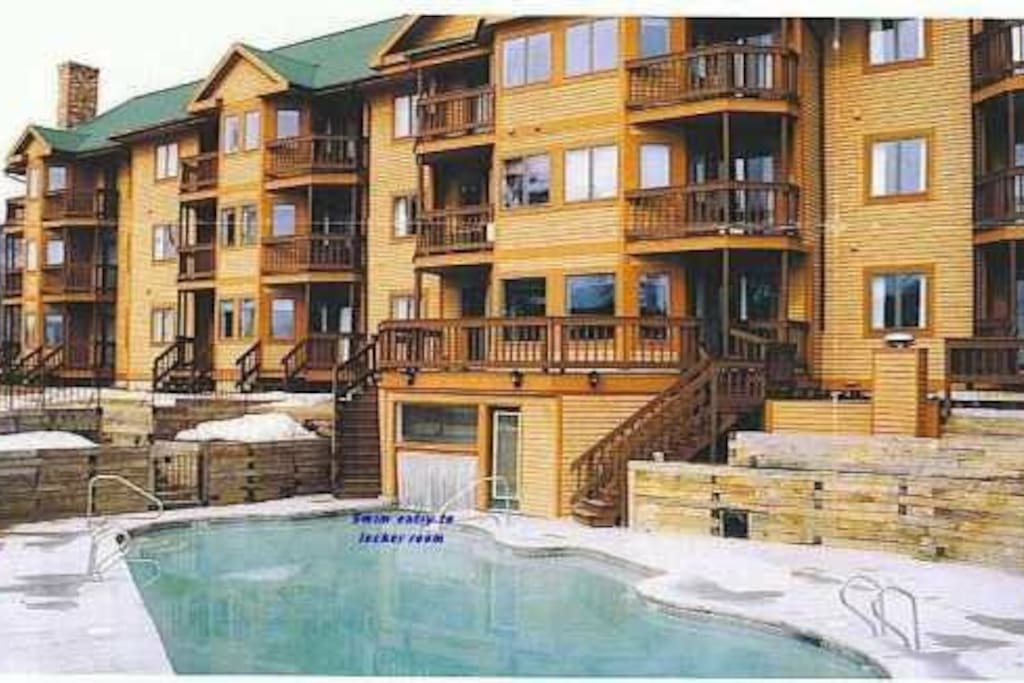 Winter and Summer pool access!