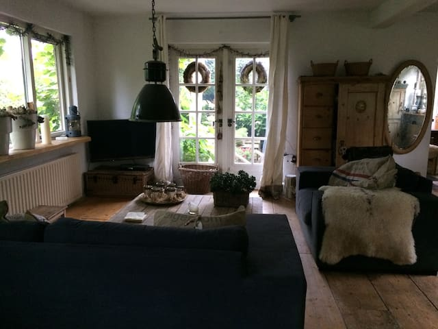 vrijstaande nostalgische ruimte 80 m2 rand Emmen.