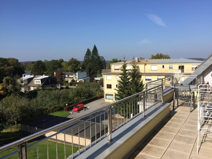 1 bedroom penthouse 5kms from Luxembourg City