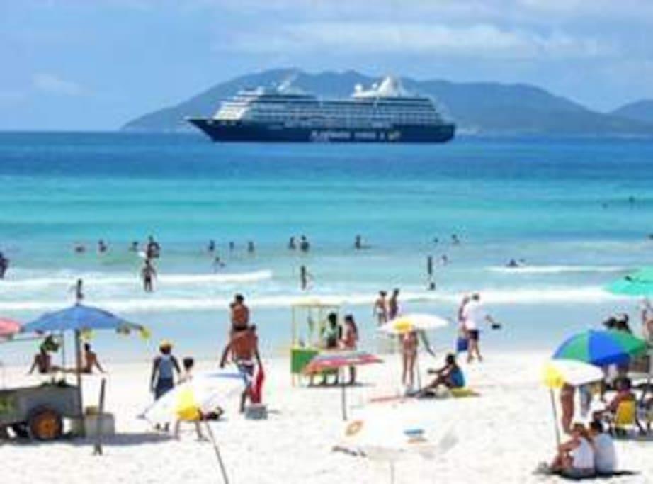 Praia Forte.