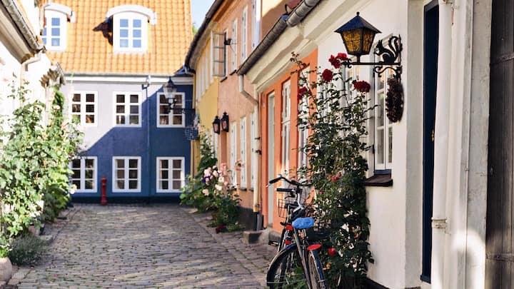 Til weekendophold og miniferie midt i Aalborg