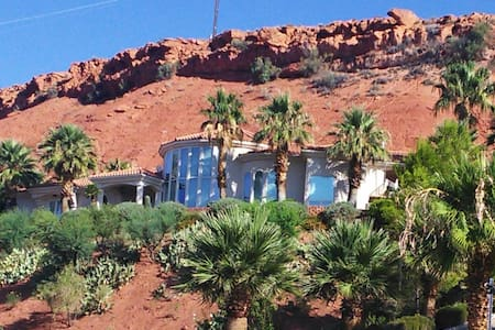 """Adams Family """"Red Hill White House"""" - St. George - Hus"""