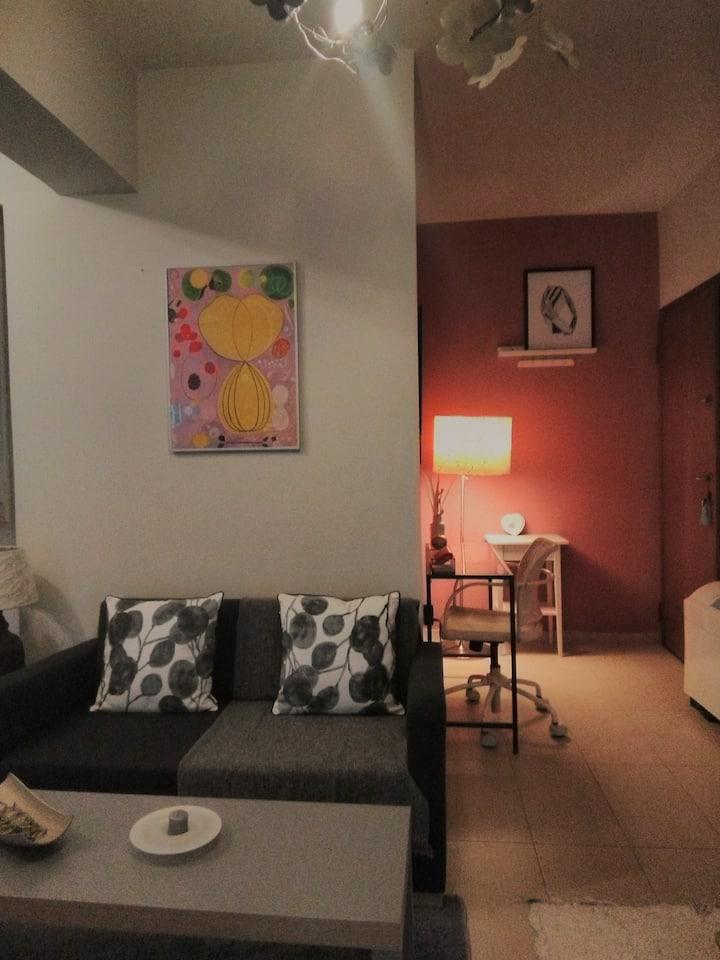 Cozy studio apartment