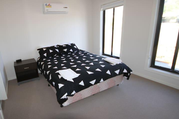 Master bedroom with ensuit - queen bed