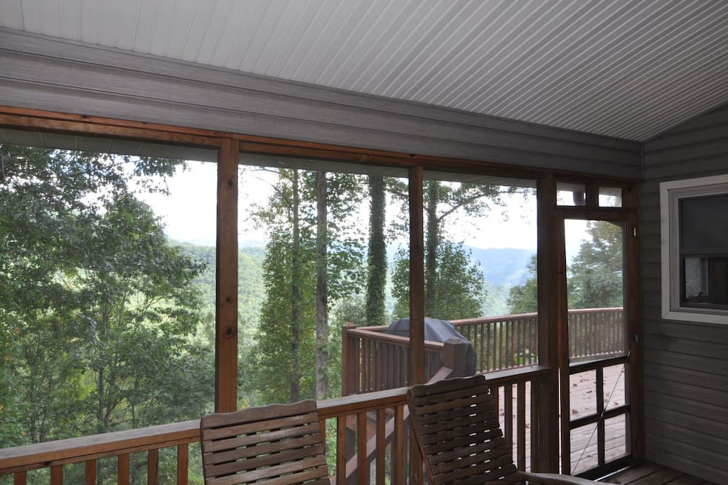 Large Screened Porch