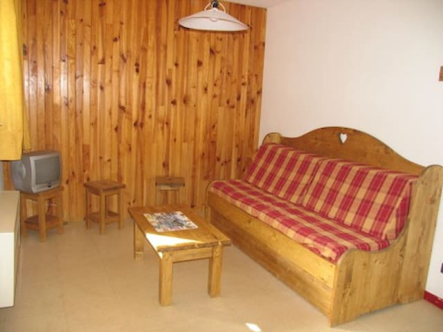 CA0012 Apartment in the village of Lanlebourg at 300m of the slopes