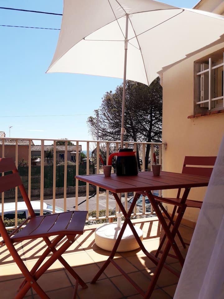 Appartement cosy en bord de mer au Grau d'Agde