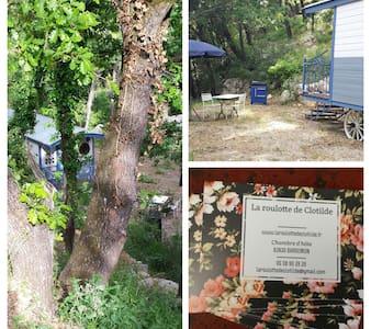 La roulotte dans les bois - Bargemon - Bed & Breakfast