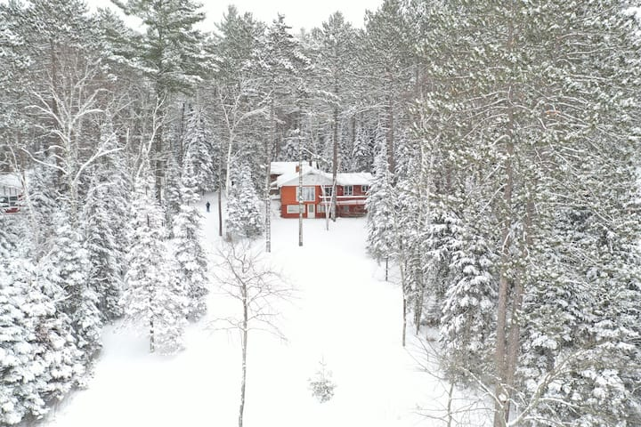 The Lake House on Cedar Island Lake