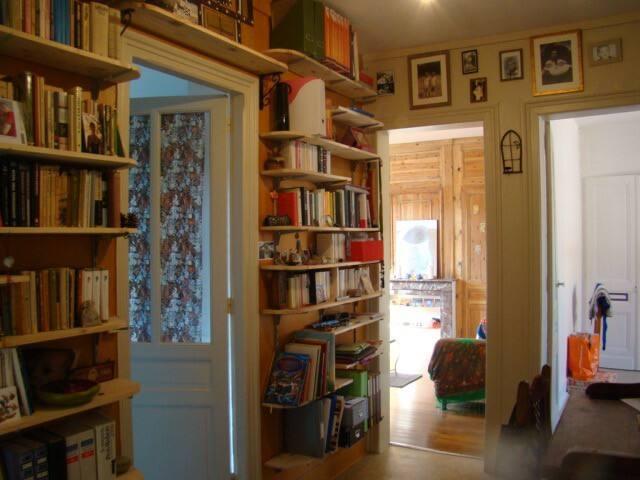 Chambre sympa dans appartement familial