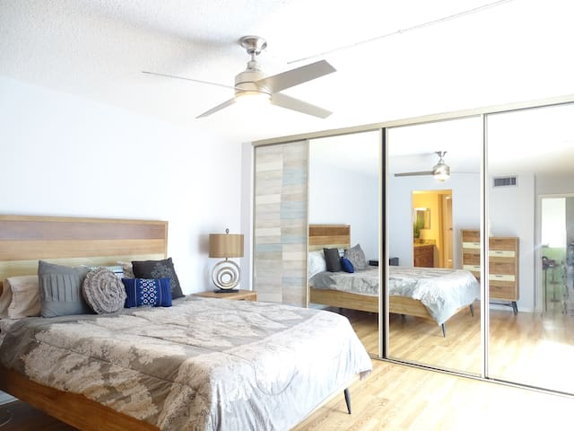 Private bedroom in a TownHouse