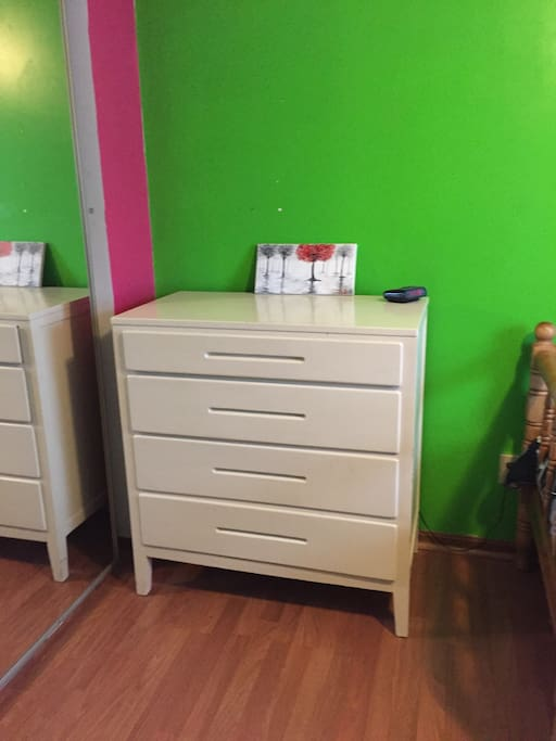 Dresser space available