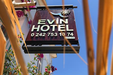 SİDE EVİN HOTEL / 50 m to the beach