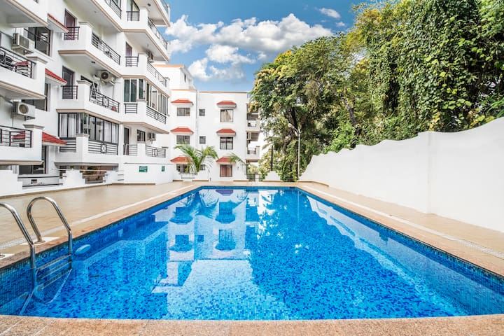 Well-furnished apartment with beautiful pool/66927