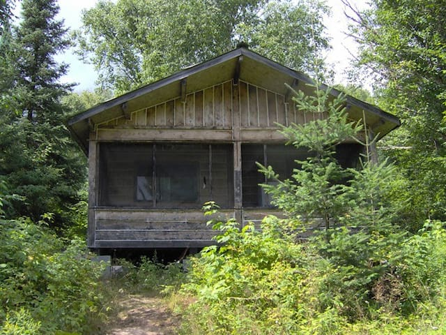 Rustic Fishing Cabin in Northern Ontario.