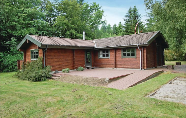 Holiday cottage with 3 bedrooms on 73 m² in Roslev