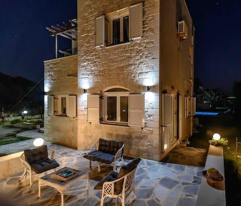 Villa On The Beach Crete Tavronitis Maris Mare