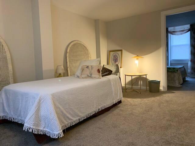 2 bedrooms on third floor