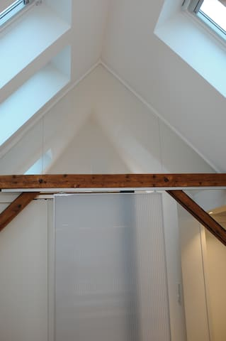 Blick in Dachstuhl