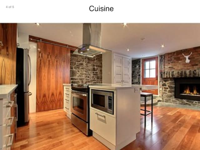 Superb condo in Old Quebec - Ville de Québec - Appartement