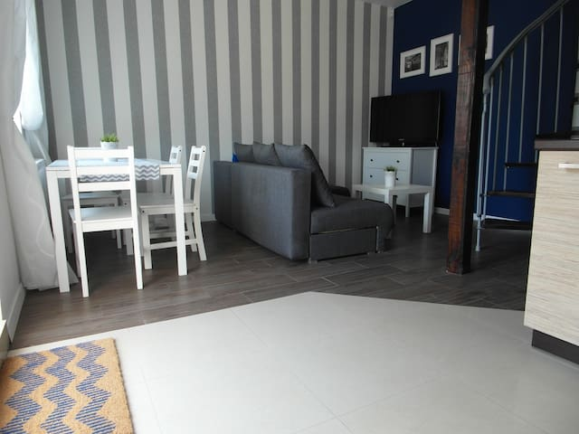 K4. Apartament Kapitański 30m od morza! - Rewal - Byt