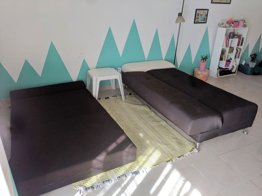 1 o 2 sofás cama - individuales