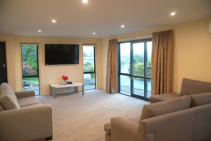 Lounge Room with large screen TV