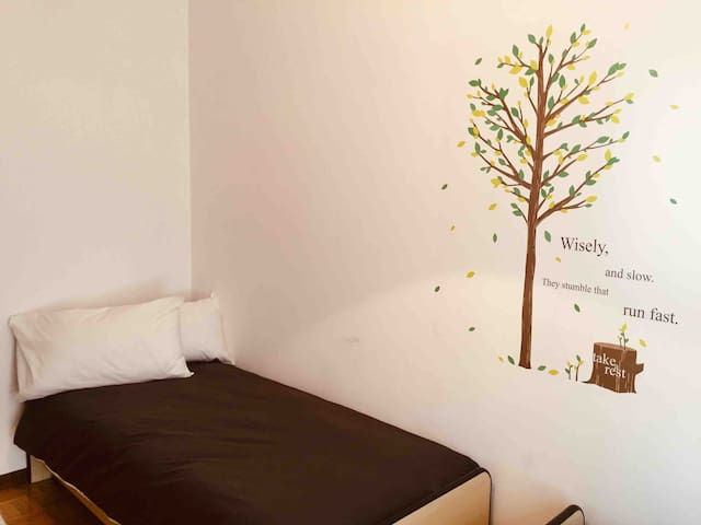 The Tree Twin Bedroom.